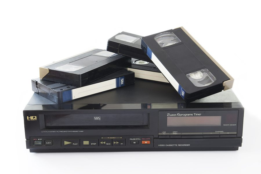 Let's Pause for A Moment of Silence for the VCR