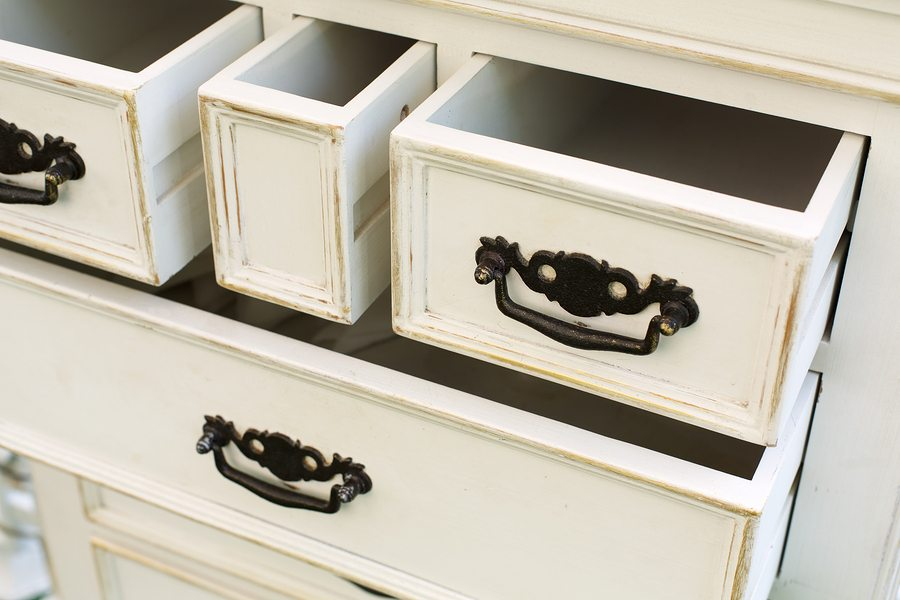 A New Use for Antique Drawers