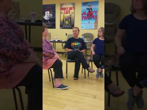 Joseph reunion with IMP cast & crew